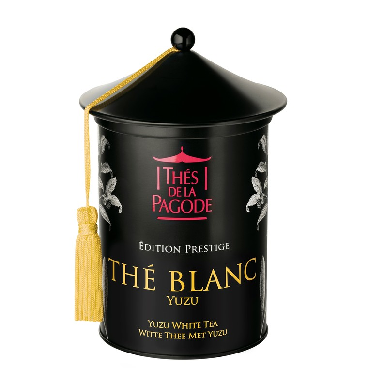 Thé blanc Yuzu bio Edition Prestige en boite métal de 100 g 652071