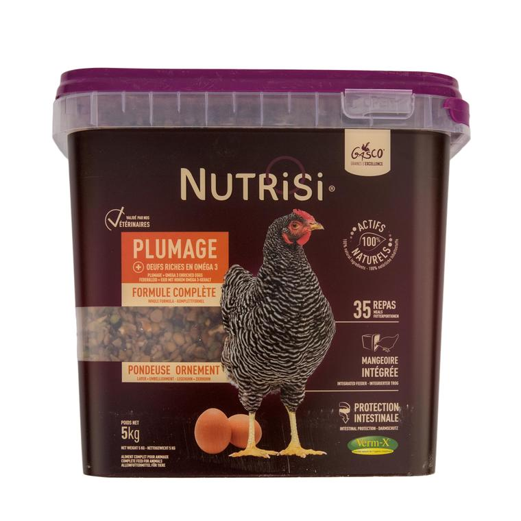 Nutrisi pour plumage en boite de 5 kg 654300