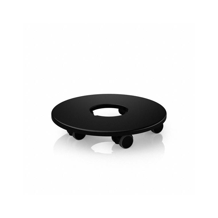 Support à roulettes pour diamètre 43cm Lechuza D.26 x H.5,8cm 65788