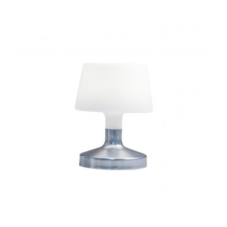 """Lampe de table Batimex Helen Silver """"touch control"""" de H 21,5 cm 658766"""