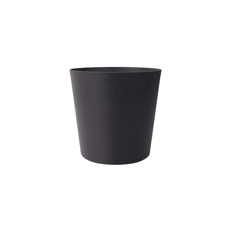 Pot Element conique coloris ardoise Ø 25 x H 24 cm 658792