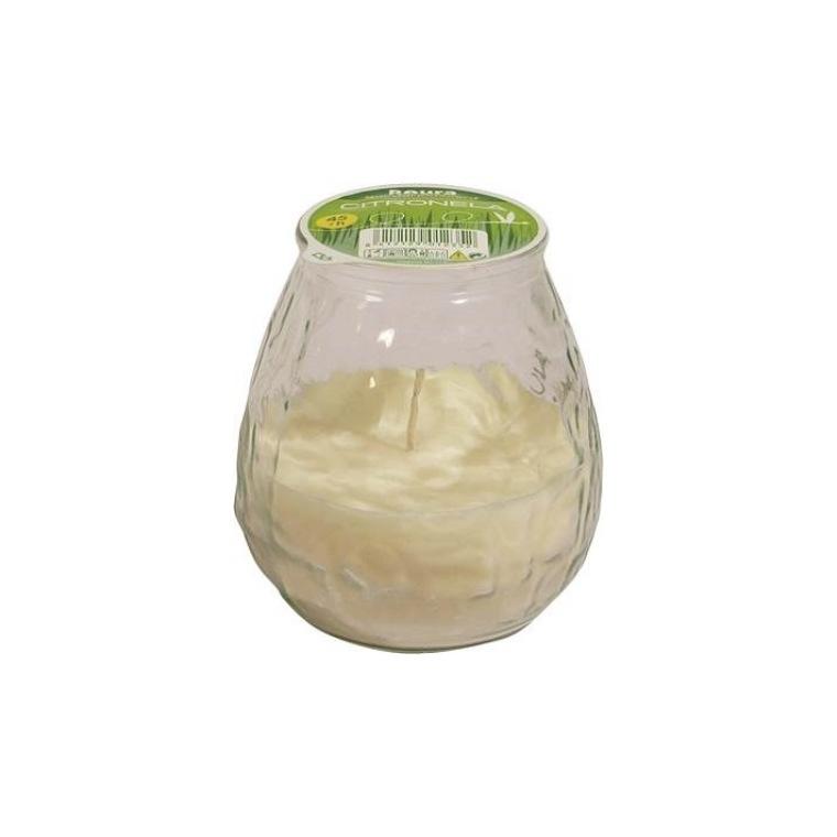 Bougie Bistrot à la citronnelle, coloris blanc 659213