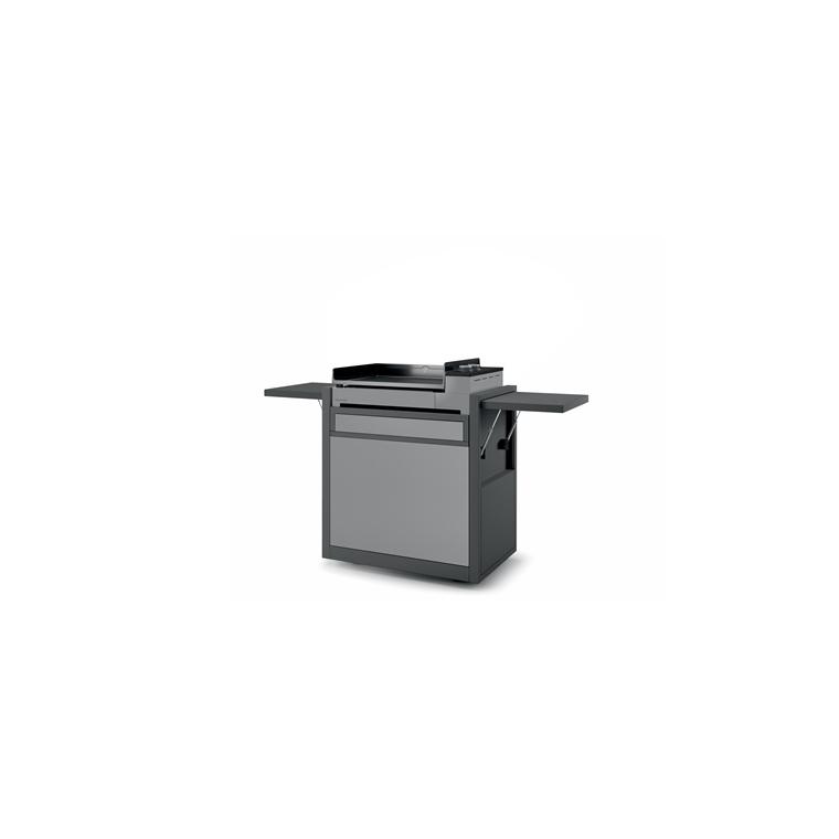 Chariot Premium 60 fermé en acier Forge Adour 174,5 x 55,6, x 104,2 cm 659317