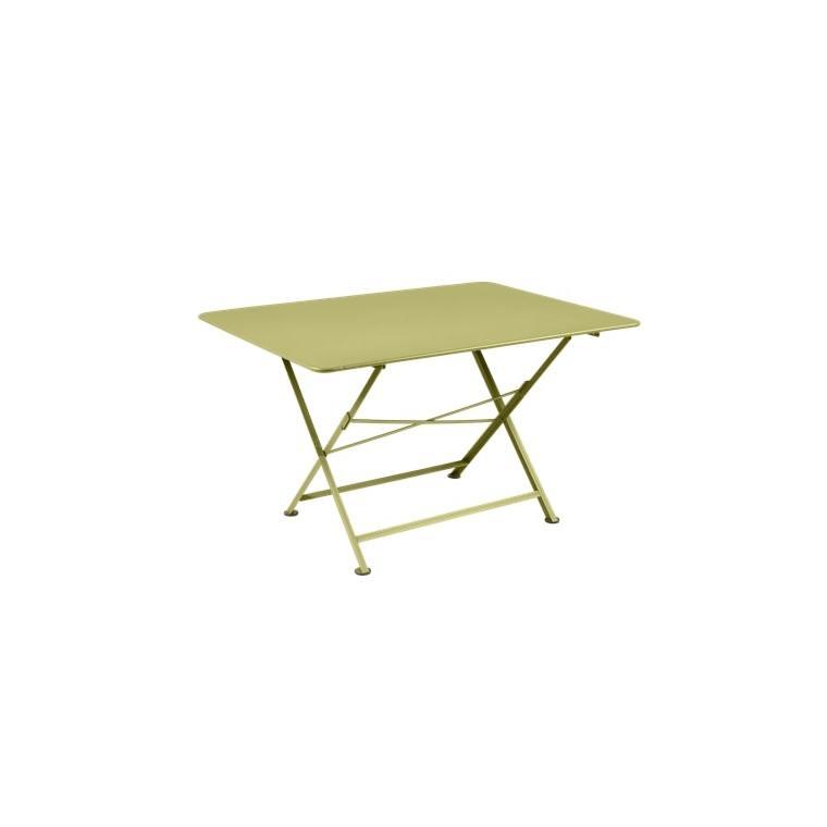 Table pliante Cargo FERMOB tilleul L128xl90xh74 659386