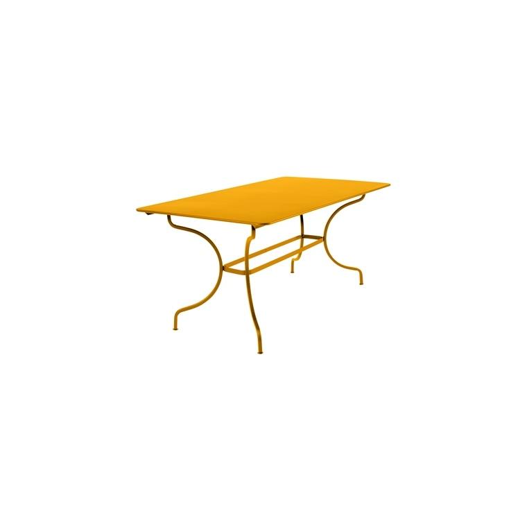 Table Manosque FERMOB miel L160xl90xh74 659467