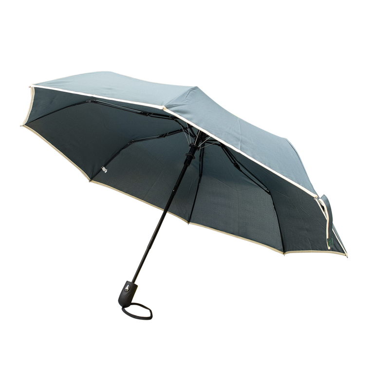 Parapluie prague vert en acier et polyester 659676