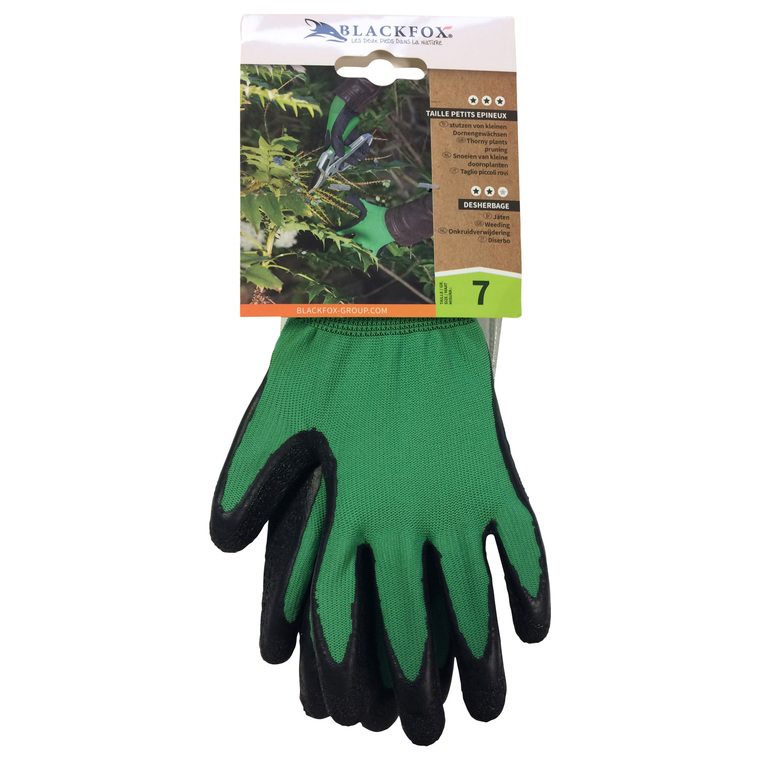 Gant aubépine enduit de latex coloris vert de taille 9 659741