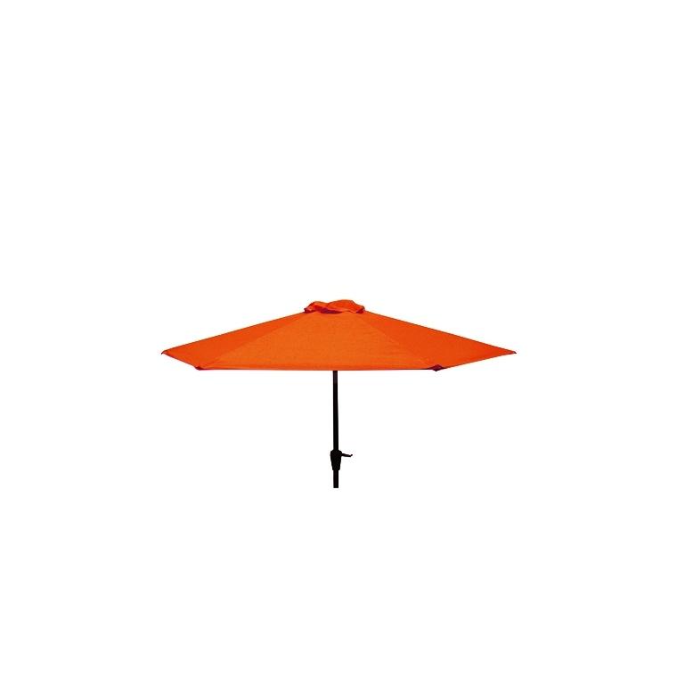 Parasol Ø 250 cm Manivelle Colors Poterie 659998