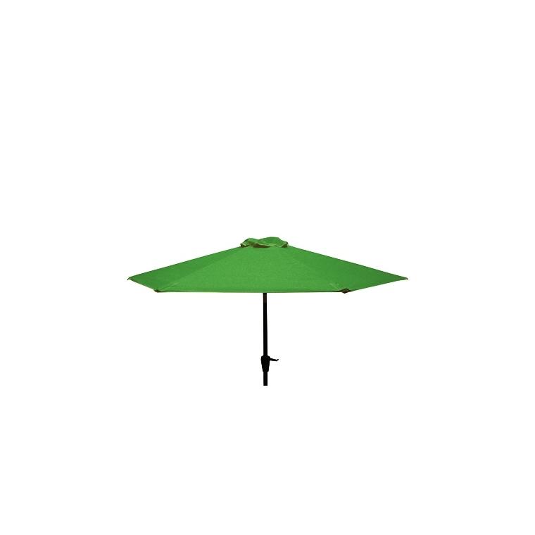 Parasol Ø 250 cm Manivelle Colors Lichen 660005