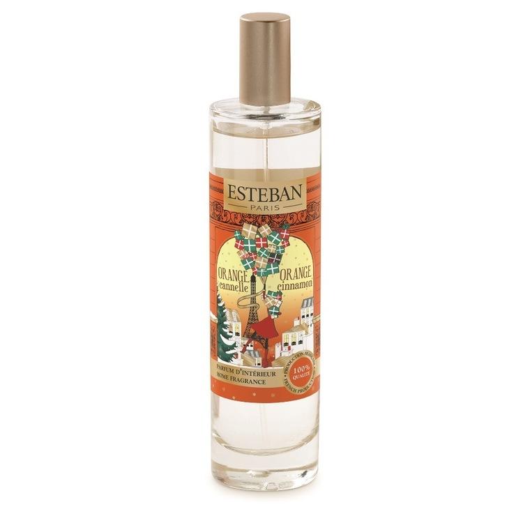 Parfum d'intérieur Orange cannelle en vaporisateur orange de 50 ml 660248