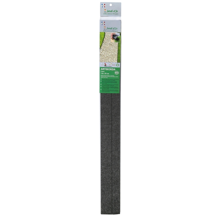Bordure articulée Artiborda x 5 Polyester recyclé Gris 100x10 cm 662024