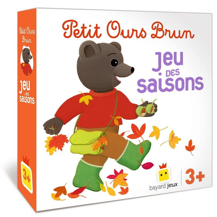 Petit Ours Brun Jeu des Saisons dès 3 ans Bayard Jeux 664009