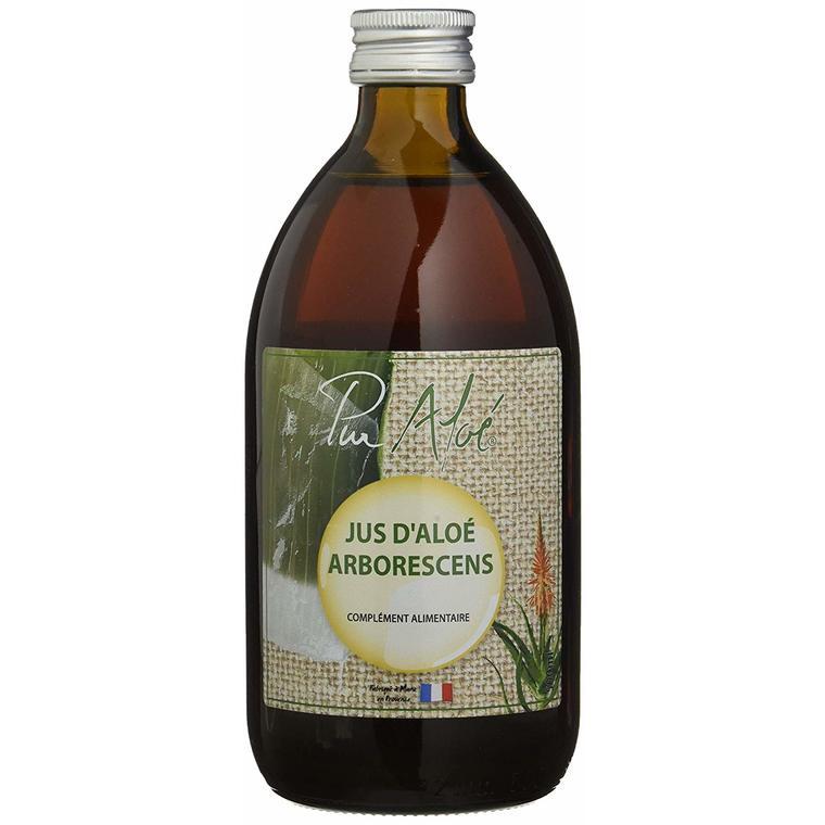Jus d'Aloe Vera Arborescens Vegan 500 ml marron 674833