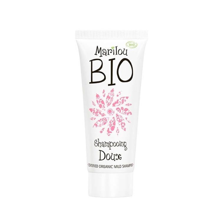 Shampoing Doux bio tube 125 ml blanc 677081