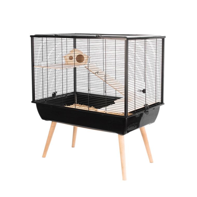 Cage Neo Silta Noir 77.5x47.5x58 cm