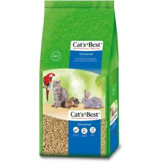 Litiere granules vegetaux pour chat, oiseau et rongeur Cat's Best Universal 40 l