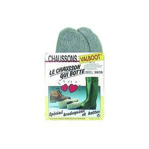 Chaussons grison verts pointure 40-41 780599