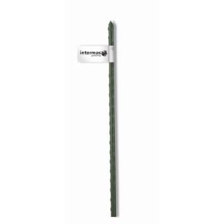 Tuteur acier plastifié coloris vert  Ø 11 mm x 1,50 m 784647
