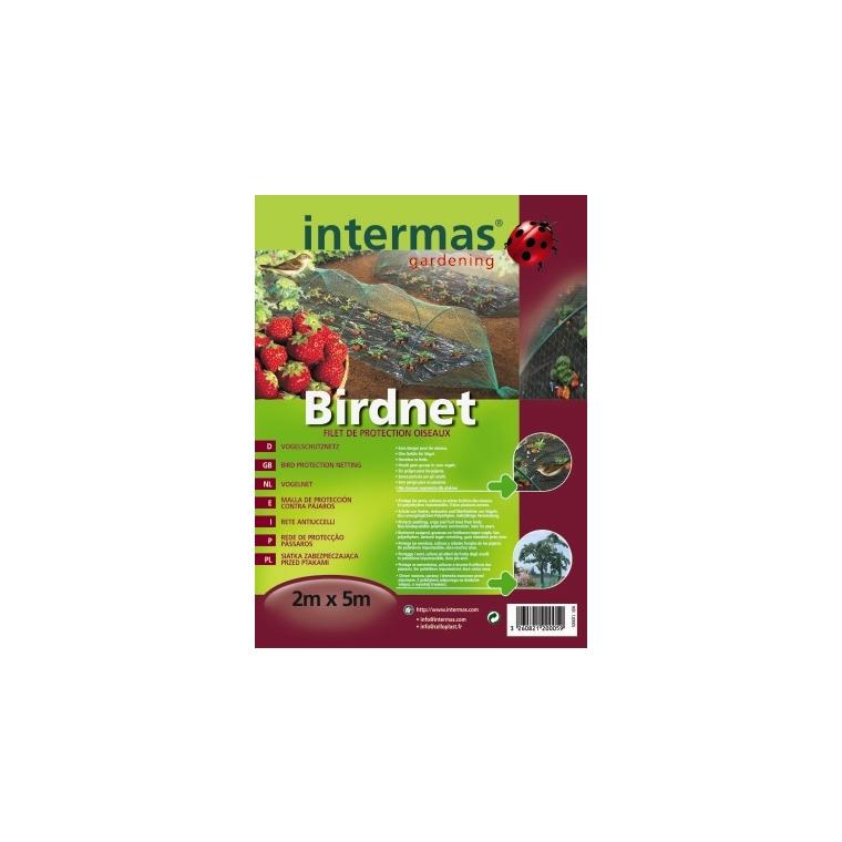 Filet de protection anti-oiseaux coloris vert 2x5 m 784616
