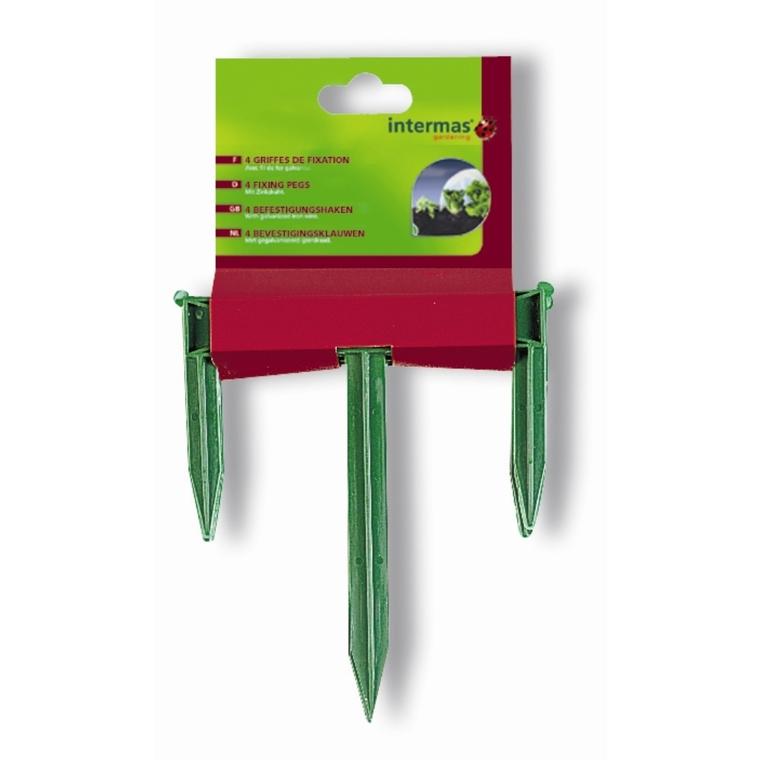 Griffes de fixation coloris vert 784643