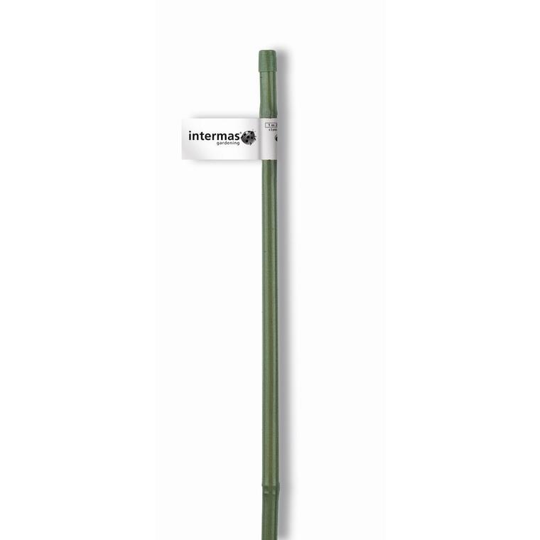 Tuteur bambou plastifié coloris vert Ø 12/16 mm x 1,20 m 784652