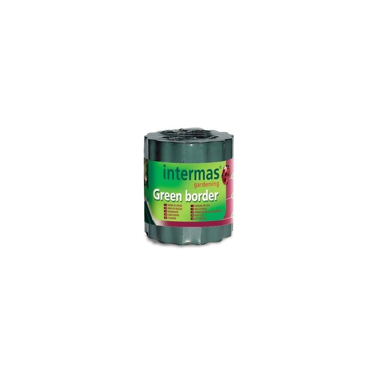 Bordure à gazon Greenborder coloris vert 0,15x9 m 784738