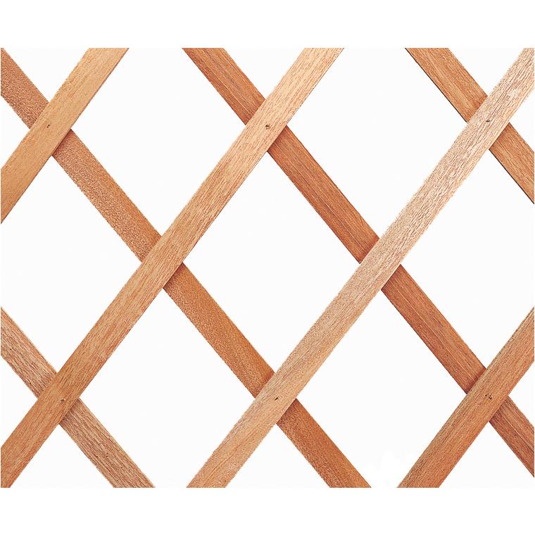Treillis extérieur Treilliwood en bois naturel 50 x 150 cm 784748
