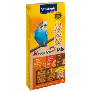 Kräcker Perruche x3 miel orange Vitakraft 95g 806065