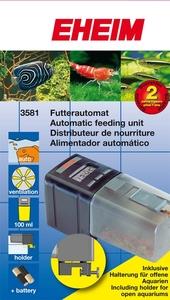 Distributeur aliment aquarium automatique rena food for Distributeur aliment poisson