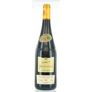 Vin bio de Savoie AOC Rouge, Mont Rouge 75 cl DOMAINE LA GERBELLE