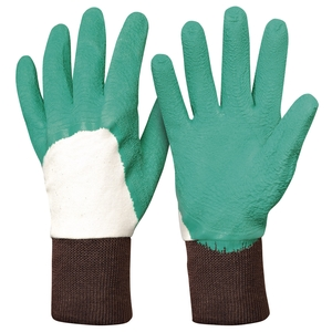 Gants rosier en latex T. 7