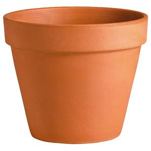 Vase brut rouge en terre cuite D.39 x H34 847424
