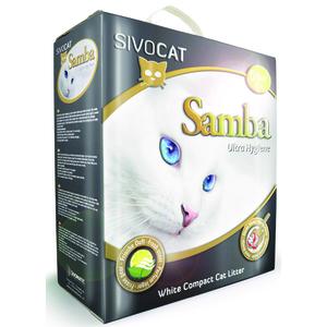 Litière pour chat Samba en boite de 6 L
