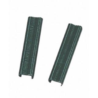 Agrafe Grafit x 150 Acier plastifié Vert 20 mm 889509