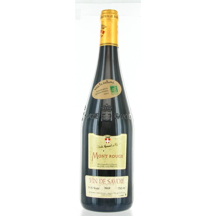 Vin bio de Savoie AOC Rouge, Mont Rouge 75 cl DOMAINE LA GERBELLE 81812
