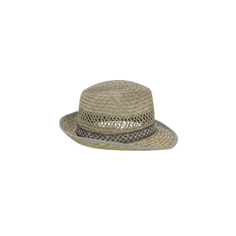 Chapeau de paille borsalino beige pour homme taille 60 835366