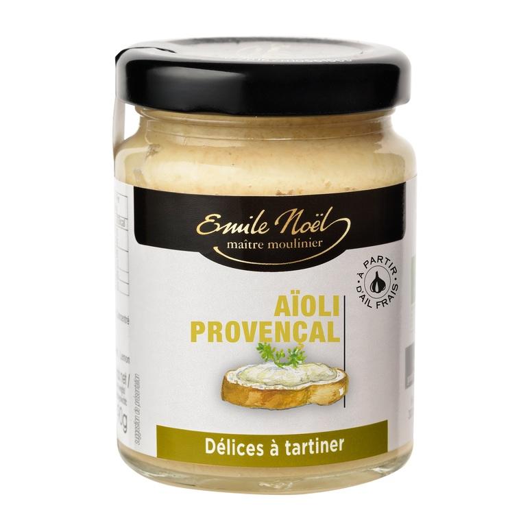 Aïoli provençal bio en pot de 90 g 851324