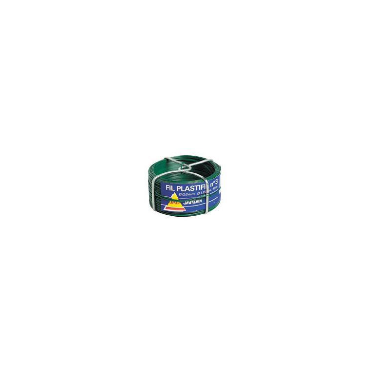 Fil plastifié vert n°3 859503