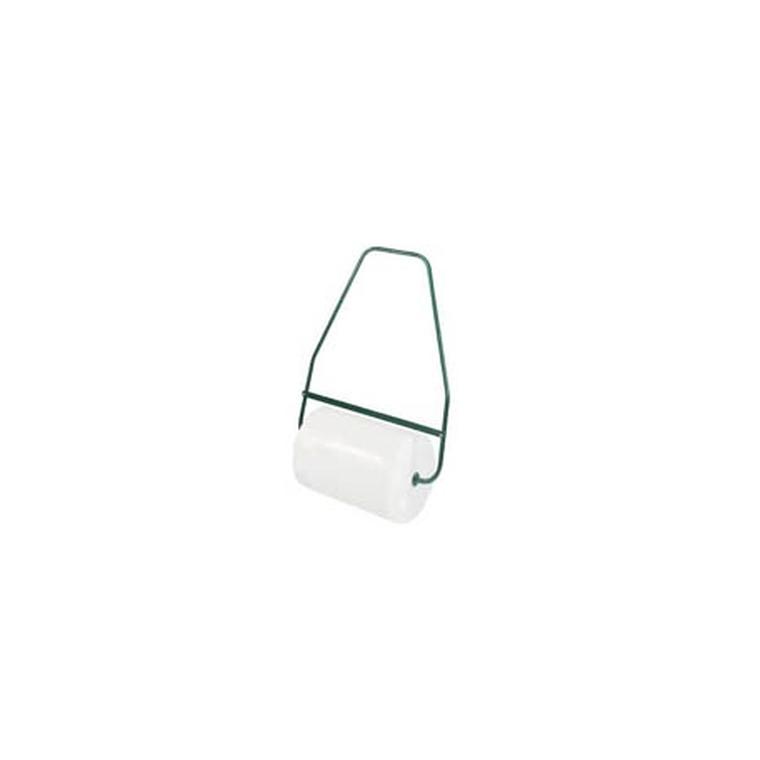 Rouleau à gazon plastique blanc 70 cm avec brancard acier
