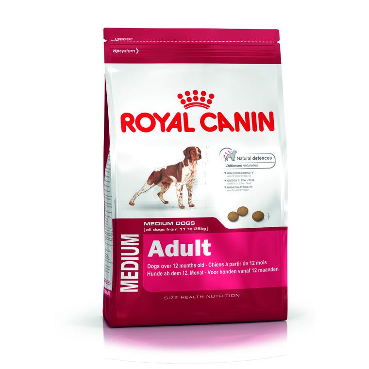 Aliment pour chien de taille moyenne Medium Adult en sac de 15 kg