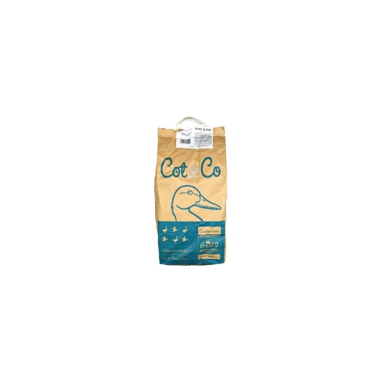 Alimentation Caneton granulés cot & co 10 kg
