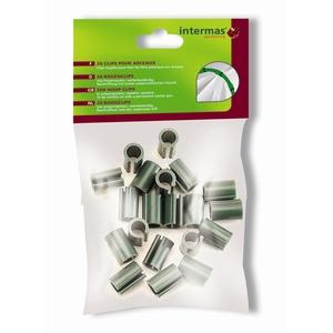 Clip pour arceau coloris vert 913612