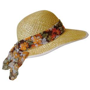 Chapeau de paille nathalie beige pour femme taille unique 913858