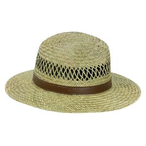 Chapeau de paille camberra beige pour homme taille 56 913860