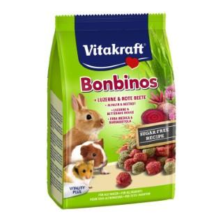 Drops carotte lapin nain Bonbino'S Vitakraft 40g