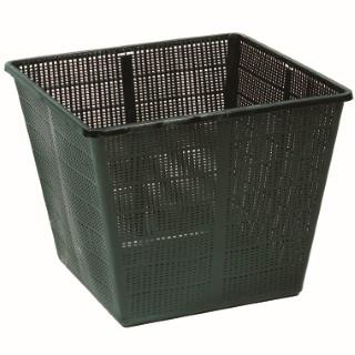 Panier carré en plastique - 35x35x26 cm