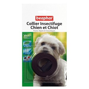 Collier insectifuge petits chiens/chiots Beaphar