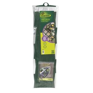 Treillis extérieur Treilliflex en PVC, coloris vert, 50 x 150 cm