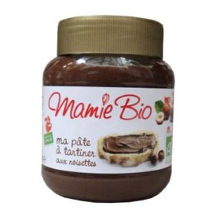 Pâte à tartiner bio noisettes et cacao Mamie bio 350 g