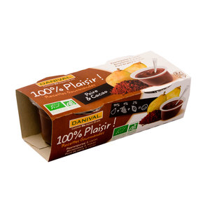 Dessert gourmand Poire et cacao 220 g DANIVAL